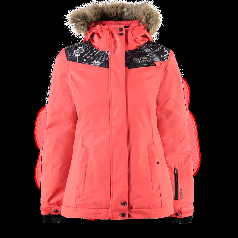 Brunotti Jovana Women Jacket (Pink) - WOMEN JACKETS - Brunotti online shop