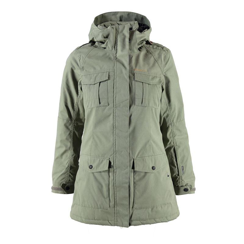 Brunotti Jasolo Women Jacket (Green) - WOMEN JACKETS - Brunotti online shop