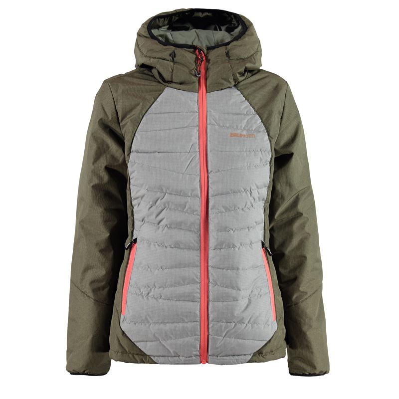 Brunotti Jisernia Women Jacket (Green) - WOMEN JACKETS - Brunotti online shop