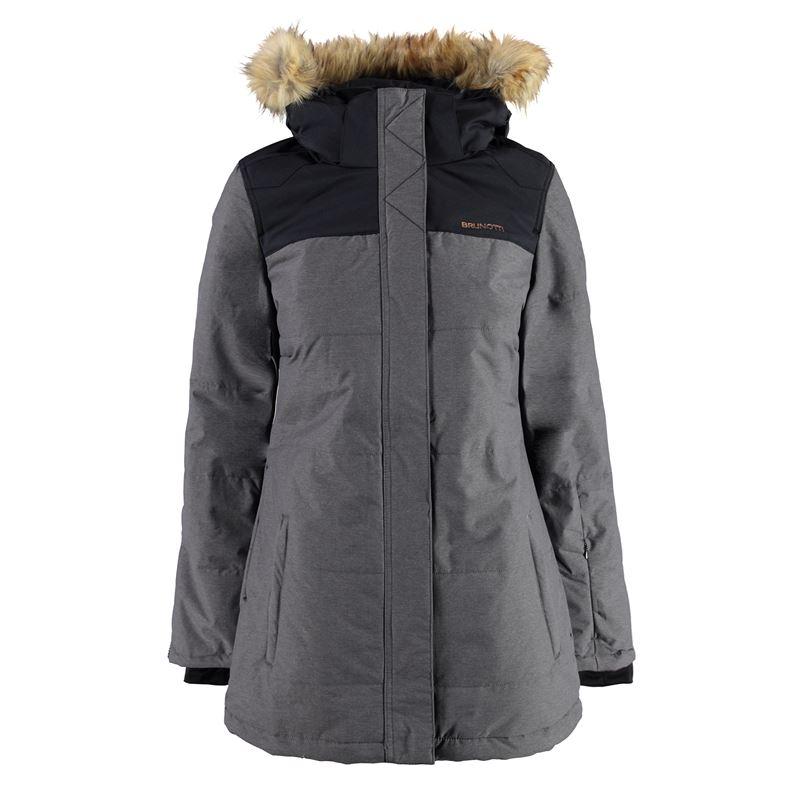 Brunotti Jamalfi Women Jacket (Grey) - WOMEN JACKETS - Brunotti online shop