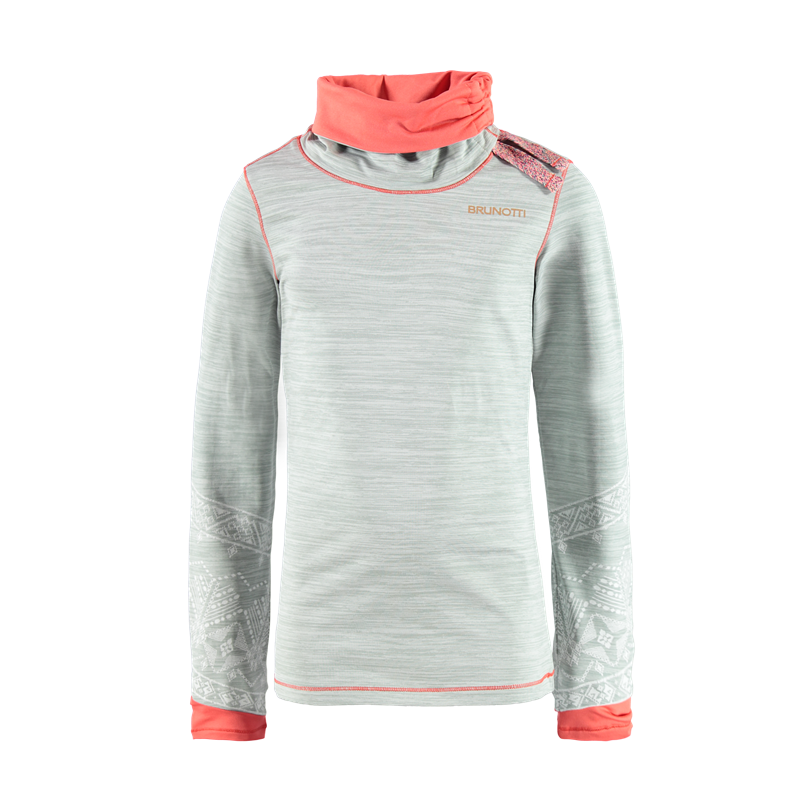 Brunotti Yri JR Girls Fleece (Roze) - MEISJES FLEECES - Brunotti online shop