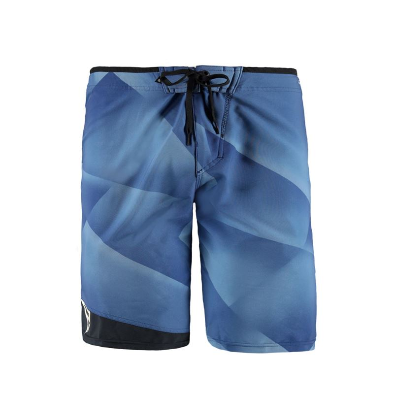 Brunotti Voyage Men Boardshort (Blauw) - HEREN BOARDSHORTS - Brunotti online shop