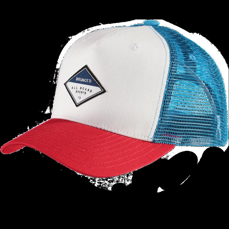 Brunotti Trucker Men Cap (Blue) - MEN CAPS - Brunotti online shop