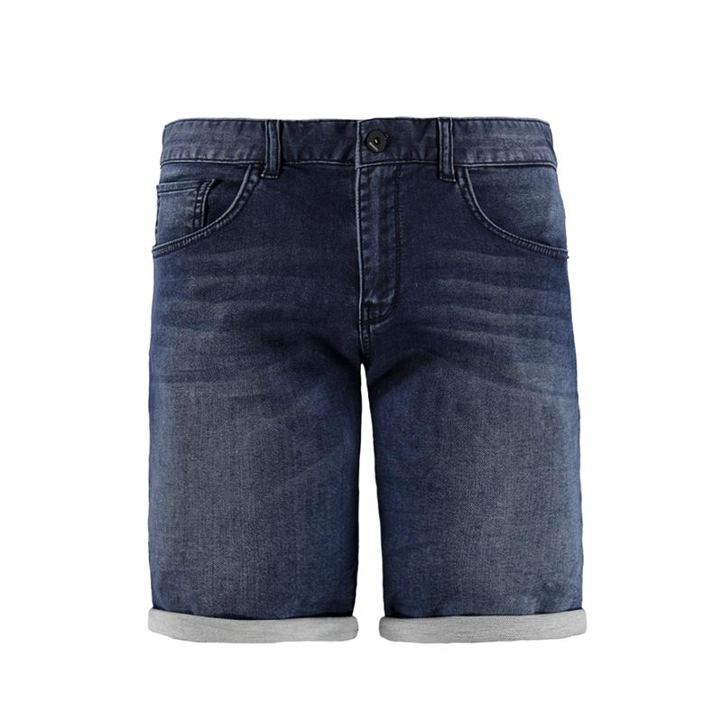 Brunotti Wall street Men Jog jeans short (Blue) - MEN SHORTS - Brunotti online shop