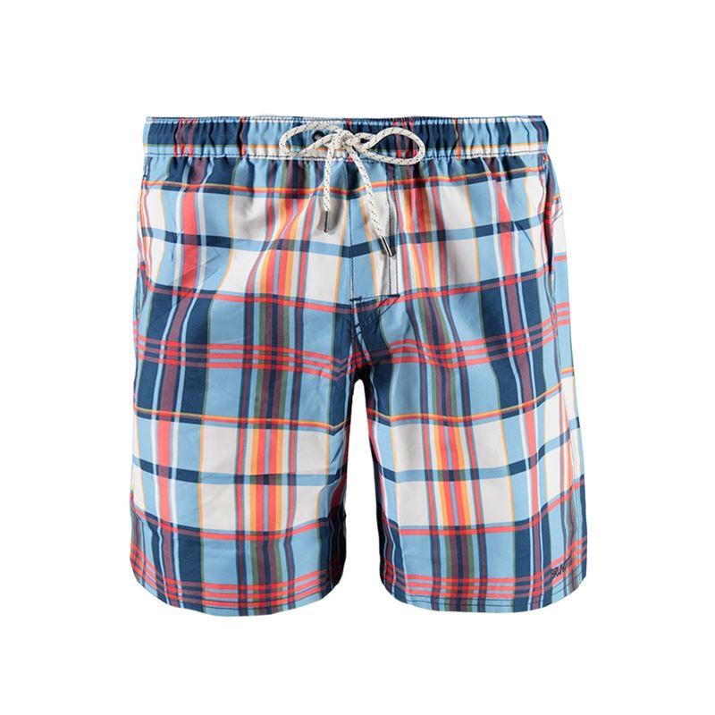 Brunotti Mangrove  (blauw) - heren zwemshorts - Brunotti online shop