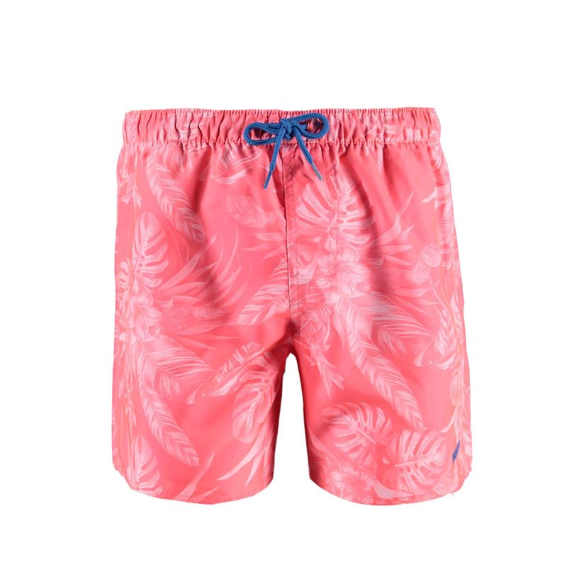 Brunotti Tropical Men Shorts (Roze) - HEREN ZWEMSHORTS - Brunotti online shop