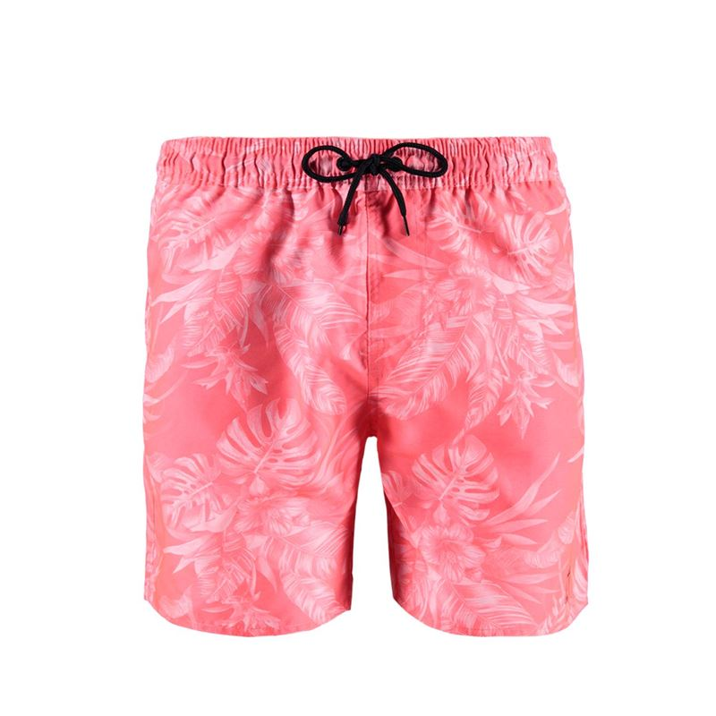 Brunotti Graham AO Men Shorts (Roze) - HEREN ZWEMSHORTS - Brunotti online shop