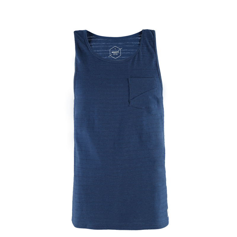 Brunotti Cody Men Singlet (Blue) - MEN T-SHIRTS & POLOS - Brunotti online shop