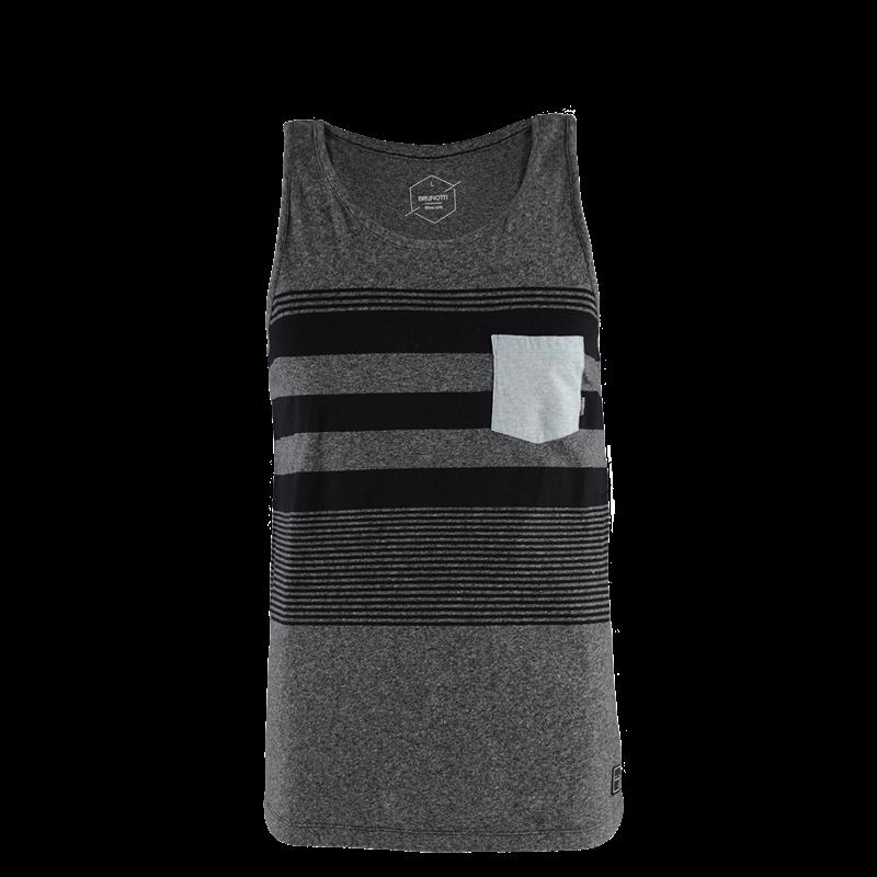 Brunotti Trevon Men Singlet (Grey) - MEN T-SHIRTS & POLOS - Brunotti online shop