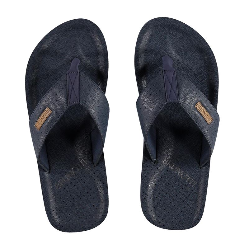 Brunotti Currents Men Slipper (Blauw) - HEREN SLIPPERS - Brunotti online shop