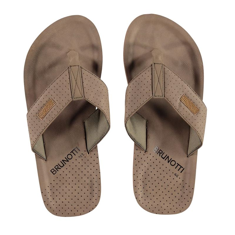Brunotti Currents Men Slipper (Braun) - HERREN FLIP FLOPS - Brunotti online shop