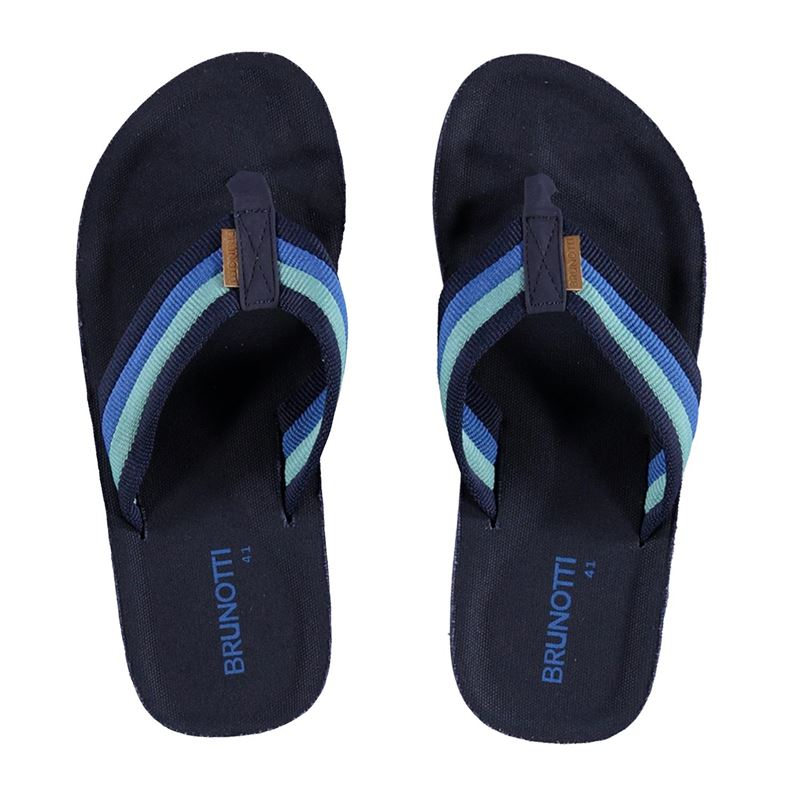 Brunotti Hightide Men Slipper (Blue) - MEN FLIP FLOPS - Brunotti online shop