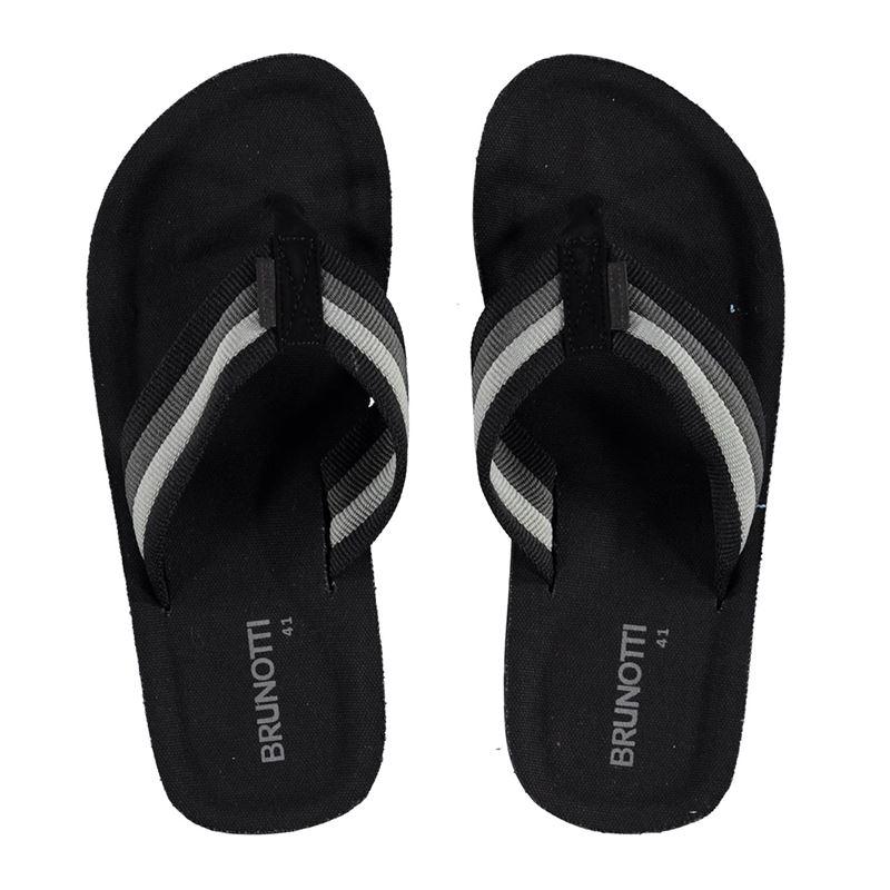 Brunotti Hightide Men Slipper (Zwart) - HEREN SLIPPERS - Brunotti online shop