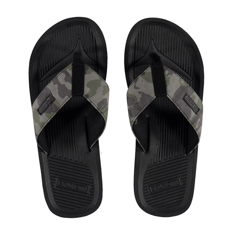 Brunotti Saltwater Men Slipper (Black) - MEN FLIP FLOPS - Brunotti online shop