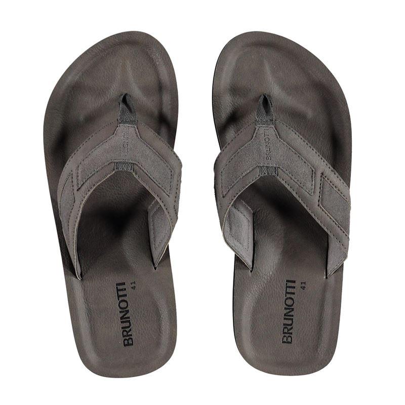 Brunotti Tide Men Slipper (Grey) - MEN SLIPPERS - Brunotti online shop