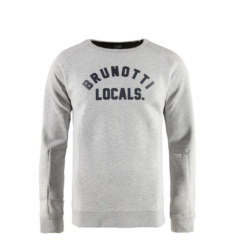 Brunotti Extremis Men Sweat (Grey) - MEN JUMPERS & CARDIGANS - Brunotti online shop