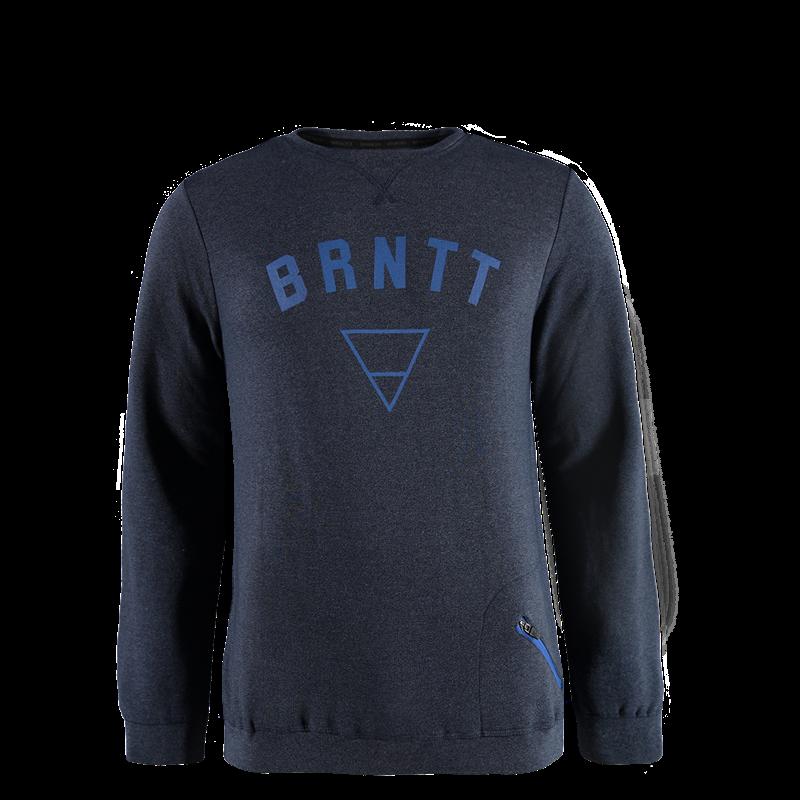 Brunotti Hipster Men Sweat (Blue) - MEN JUMPERS & CARDIGANS - Brunotti online shop