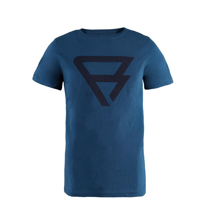Brunotti Blaze Men T-shirt (Blauw) - HEREN T-SHIRTS & POLO'S - Brunotti online shop