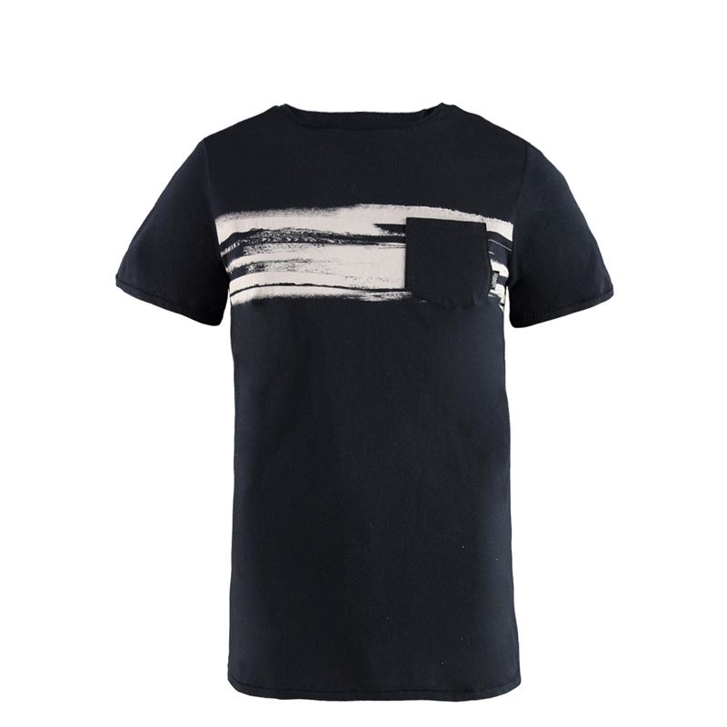 Brunotti Colin Men T-shirt (Zwart) - HEREN T-SHIRTS & POLO'S - Brunotti online shop