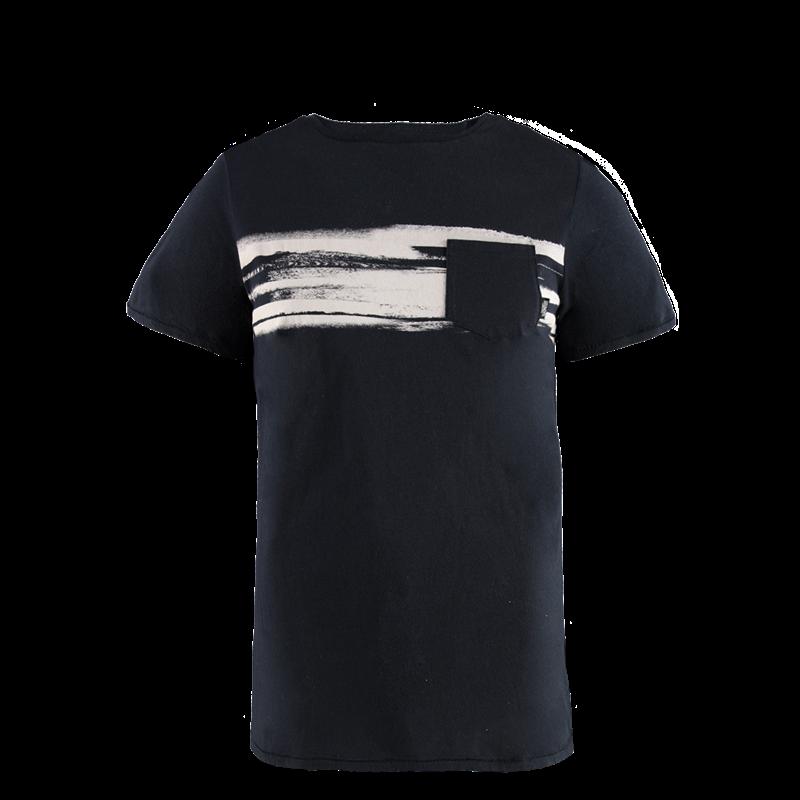 Brunotti Colin Men T-shirt (Zwart) - HEREN T-SHIRTS & POLO'S - Brunotti online shop