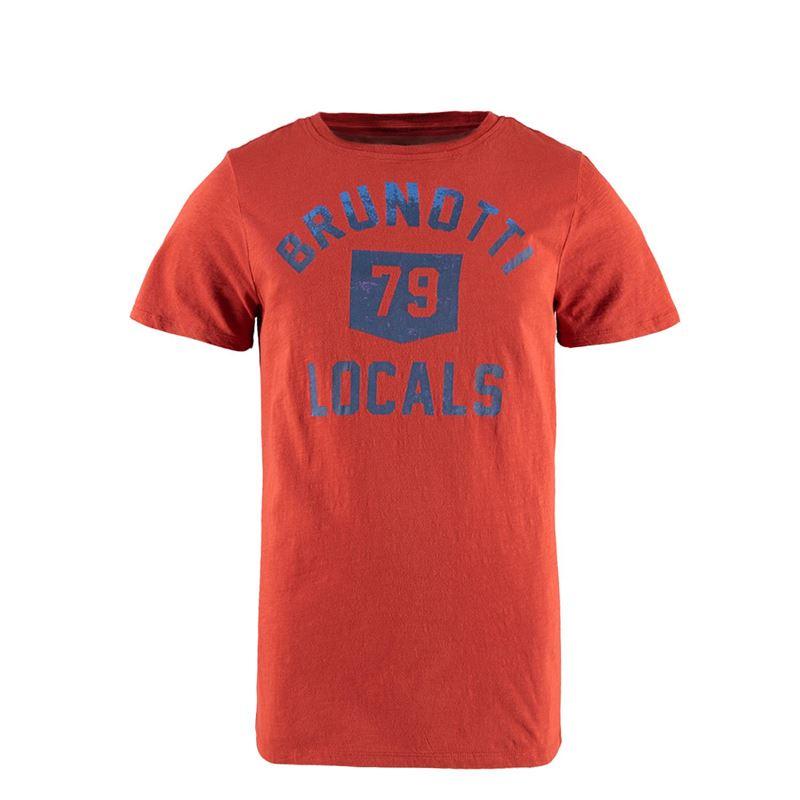 Brunotti College Men T-shirt (Red) - MEN T-SHIRTS & POLOS - Brunotti online shop
