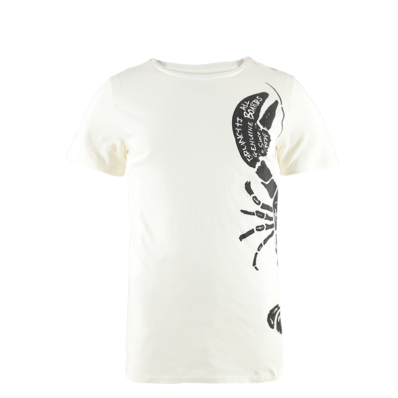Brunotti Crabbing Men T-shirt (Wit) - HEREN T-SHIRTS & POLO'S - Brunotti online shop