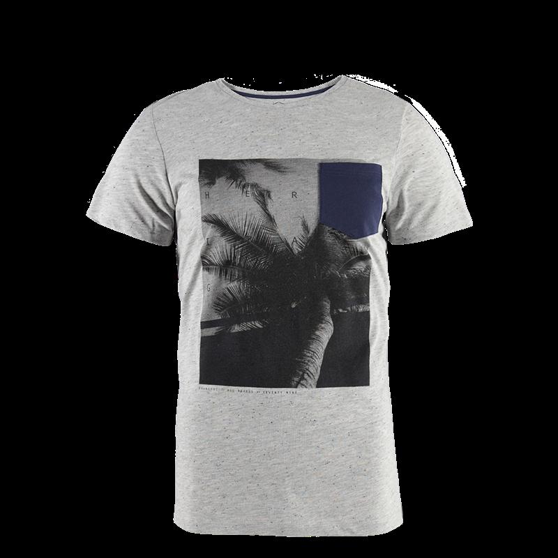 Brunotti Heather Men T-shirt (Grey) - MEN T-SHIRTS & POLOS - Brunotti online shop