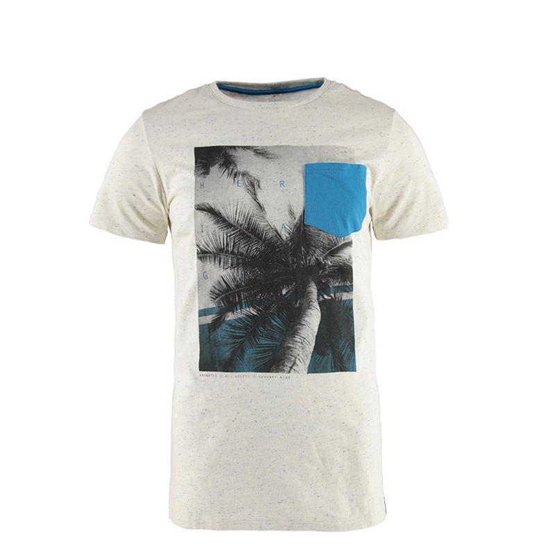 Brunotti Heather Men T-shirt (Grijs) - HEREN T-SHIRTS & POLO'S - Brunotti online shop