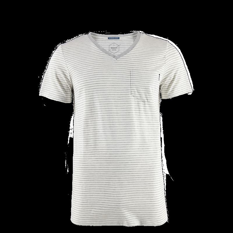 Brunotti Jay Men T-shirt (White) - MEN T-SHIRTS & POLOS - Brunotti online shop