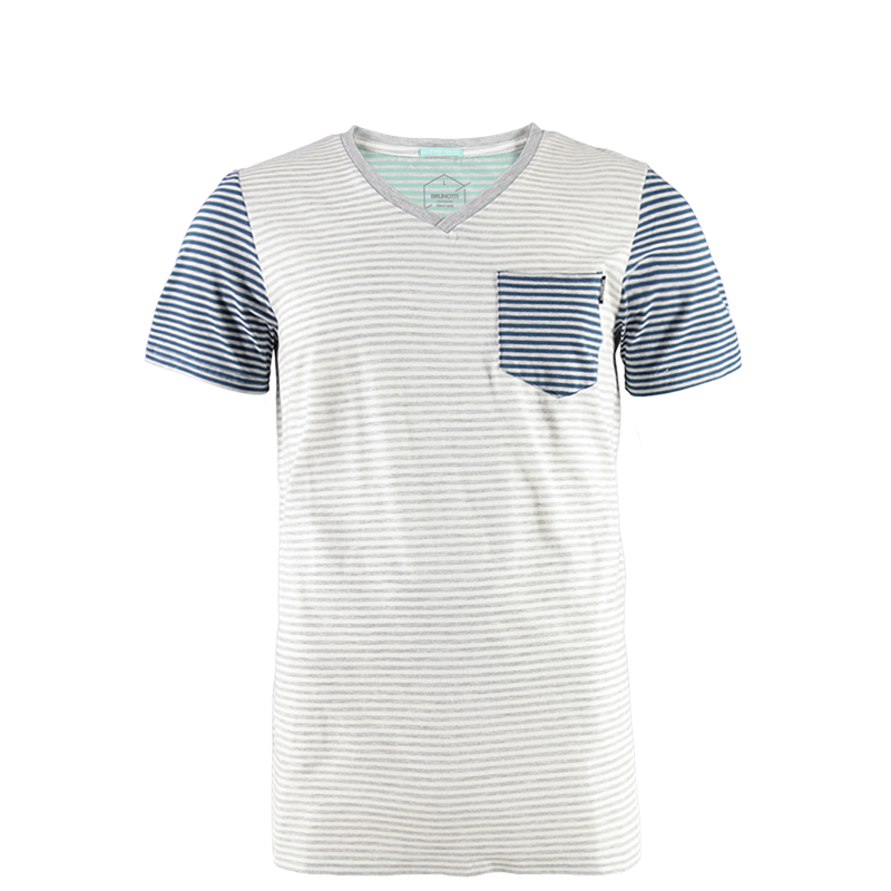 Brunotti Jay Men T-shirt (Grey) - MEN T-SHIRTS & POLOS - Brunotti online shop
