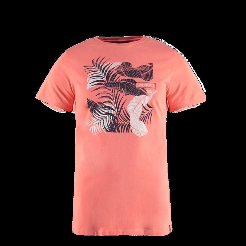 Brunotti kayak men t shirt rosa herren t shirts for Online shopping men t shirt