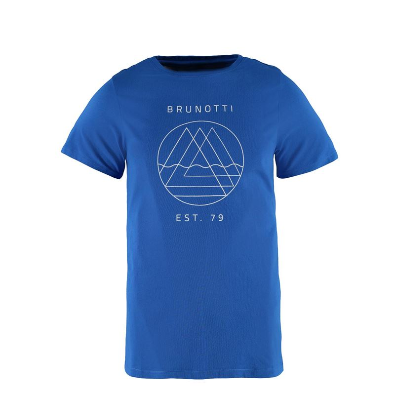 Brunotti Kayak Men T-shirt (Blue) - MEN T-SHIRTS & POLOS - Brunotti online shop
