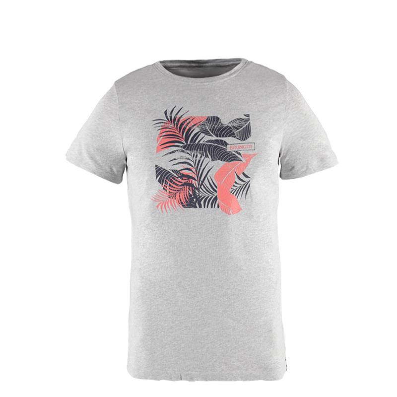 Brunotti Kayak Men T-shirt (Grijs) - HEREN T-SHIRTS & POLO'S - Brunotti online shop