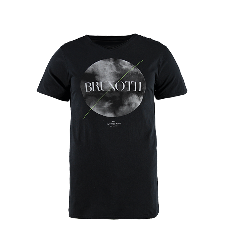 Brunotti Moon Men T-shirt (Black) - MEN T-SHIRTS & POLOS - Brunotti online shop