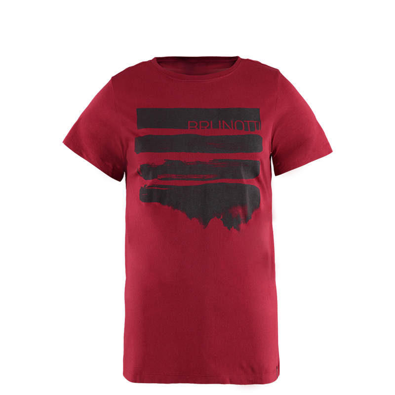Brunotti Seashell Men T-shirt (Red) - MEN T-SHIRTS & POLOS - Brunotti online shop