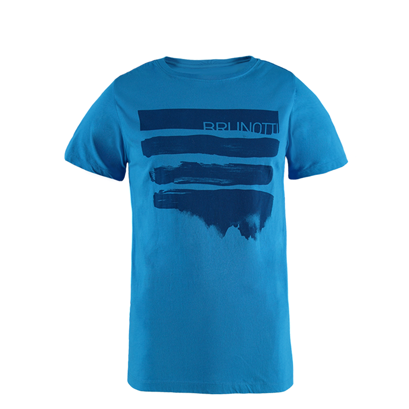 Brunotti Seashell Men T-shirt (Blue) - MEN T-SHIRTS & POLOS - Brunotti online shop