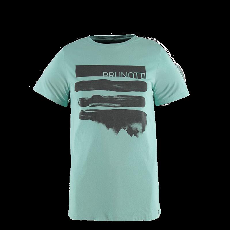 Brunotti Seashell Men T-shirt (Blauw) - HEREN T-SHIRTS & POLO'S - Brunotti online shop
