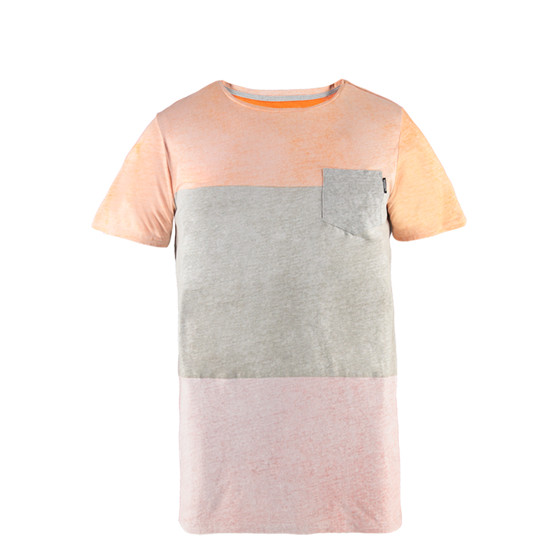 Brunotti Striping Men T-shirt (Rood) - HEREN T-SHIRTS & POLO'S - Brunotti online shop