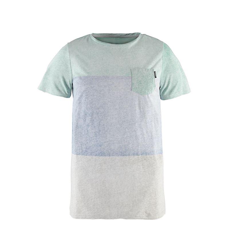 Brunotti Striping Men T-shirt (Blauw) - HEREN T-SHIRTS & POLO'S - Brunotti online shop