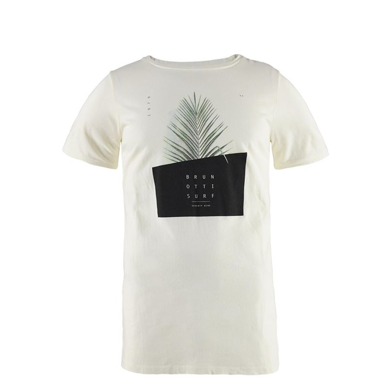 Brunotti Tosh Men T-shirt (White) - MEN T-SHIRTS & POLOS - Brunotti online shop
