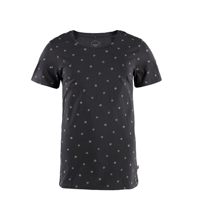 Brunotti Youris Men T-shirt (Zwart) - HEREN T-SHIRTS & POLO'S - Brunotti online shop