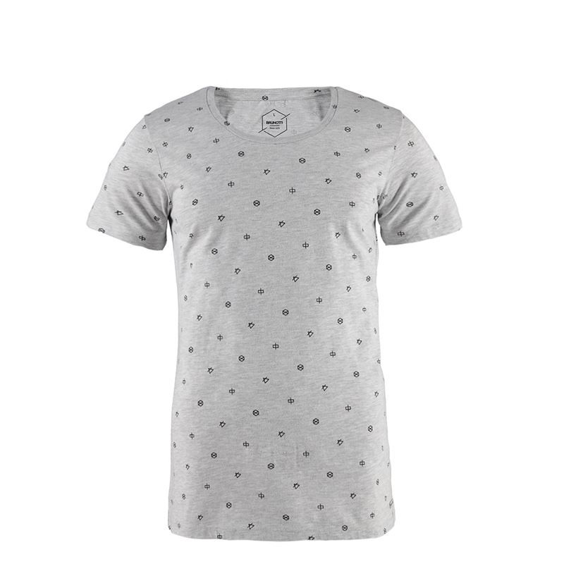 Brunotti Youris  (grey) - men t-shirts & polos - Brunotti online shop