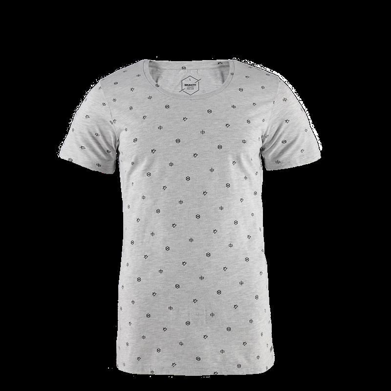 Brunotti Youris Men T-shirt (Grey) - MEN T-SHIRTS & POLOS - Brunotti online shop