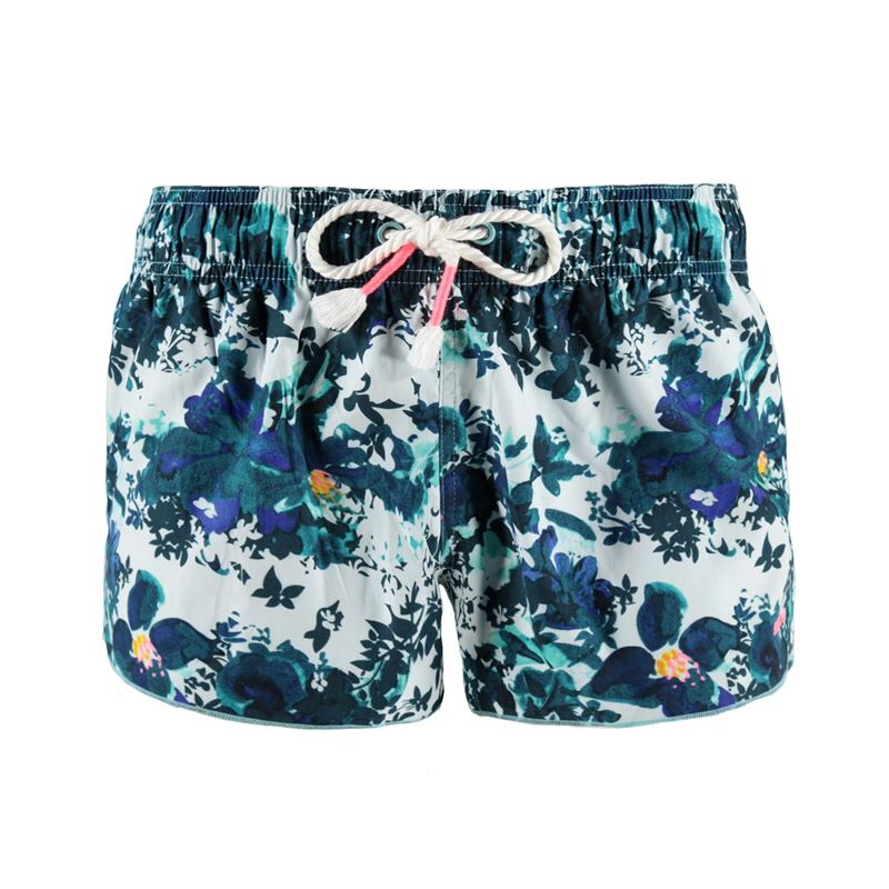 Brunotti Janthina Women Beachshort (Blauw) - DAMES BEACHSHORTS - Brunotti online shop