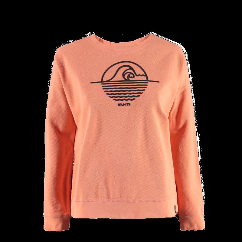 Brunotti Pythia Women Sweat (Pink) - WOMEN JUMPERS & CARDIGANS - Brunotti online shop