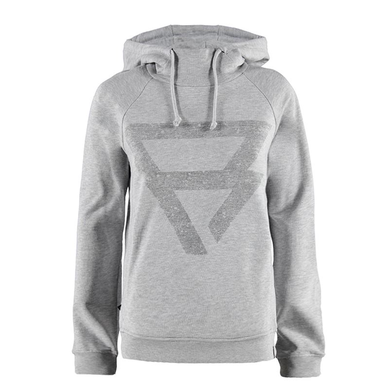 Brunotti Shellina Women Sweat (Grey) - WOMEN JUMPERS & CARDIGANS - Brunotti online shop