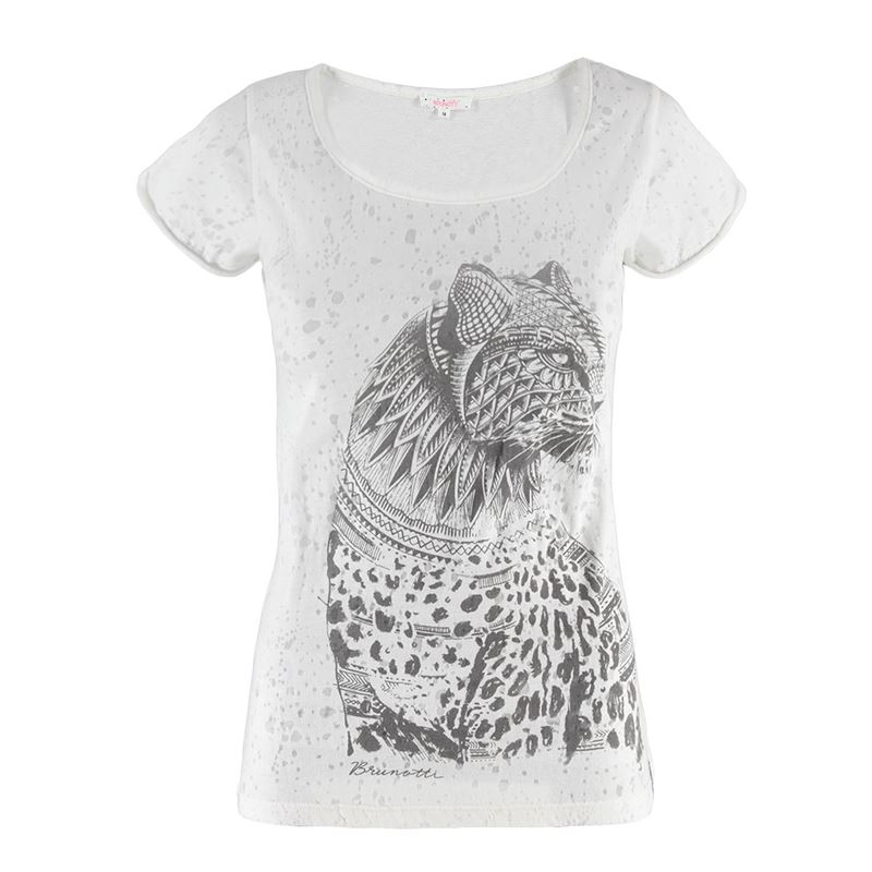 Brunotti Nassa Women T-shirt (White) - WOMEN T-SHIRTS & TOPS - Brunotti online shop