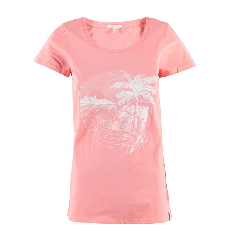 Brunotti Breezey Women T-shirt (Rosa) - DAMEN T-SHIRTS & TOPS - Brunotti online shop