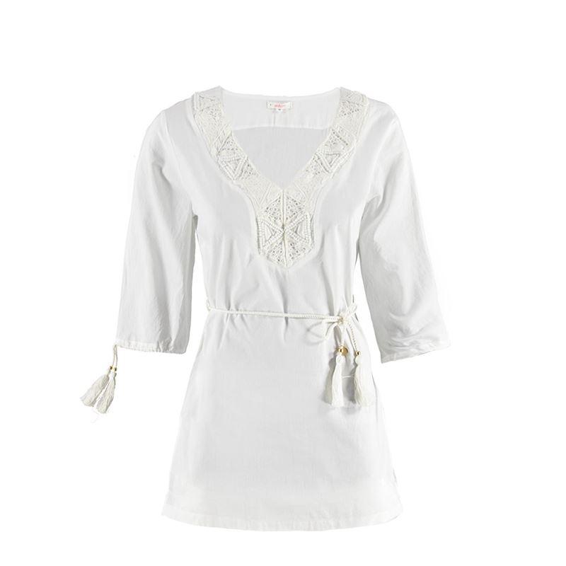 Brunotti Babylon Women Tunic (Weiß) - DAMEN TUNIKAS & JUMPSUITS - Brunotti online shop