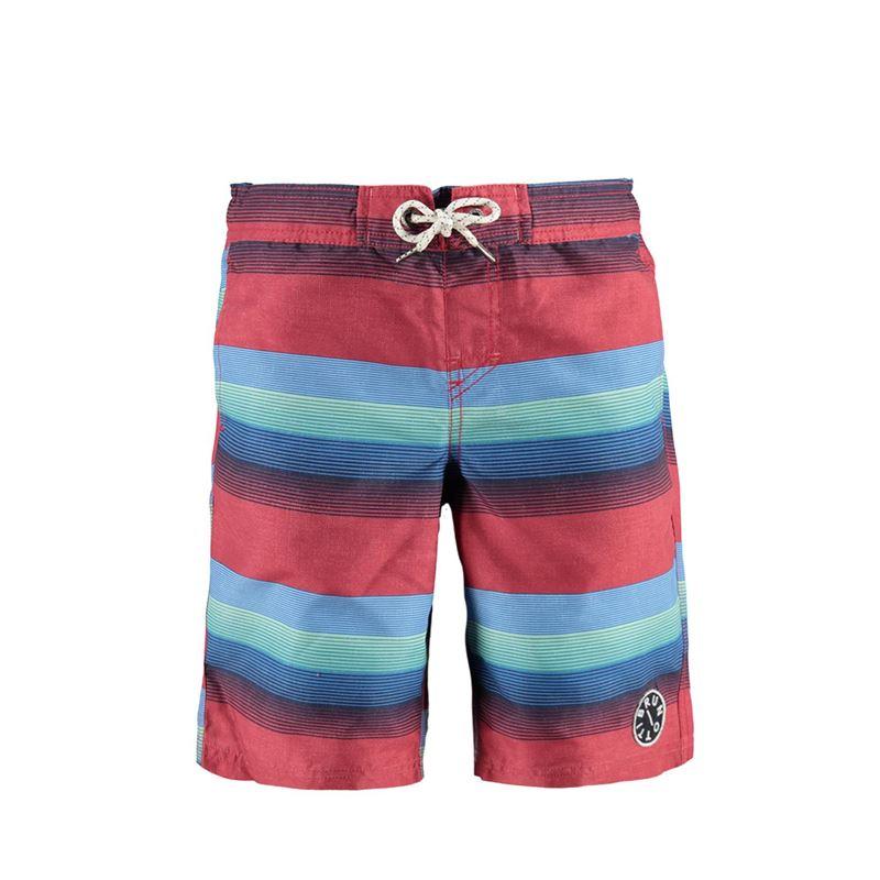 Brunotti Boardwalk JR Boys  Shorts (Rood) - JONGENS ZWEMSHORTS - Brunotti online shop